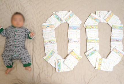 誕生100日!