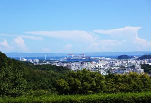 金沢動物公園からの景色