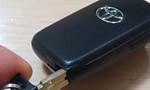 プリウスの電子キーの電池交換方法