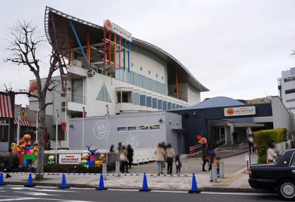 横浜アンパンマンこどもミュージアム&モール 正面