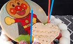 アンパンマンケーキで3歳の誕生日祝い