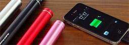どこでも充電!1日持たないスマートフォンのバッテリーに最適なアイテム