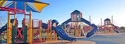 スポーツも楽しめて、こどもの遊具が豊富な「引地川公園 大和ゆとりの森」