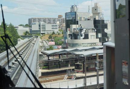 「多摩センター」駅から多摩モノレール