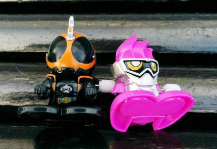 仮面ライダーエグゼイドと仮面ライダーゴースト