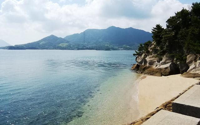 さらには、海も綺麗でとても気持ちが良い