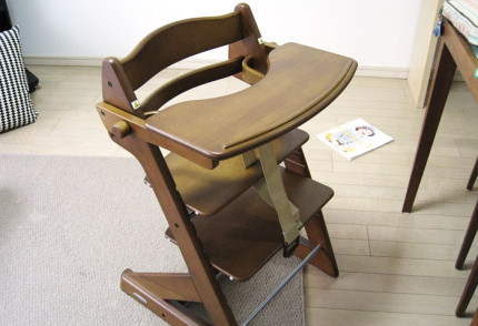 椅子の完成です