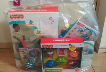 フィッシャープライスの玩具の福袋