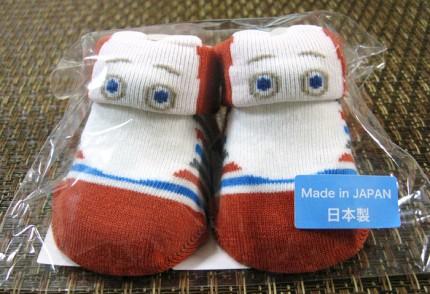 ムーミンの靴下