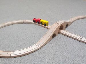 イケアの木の列車LILLABO