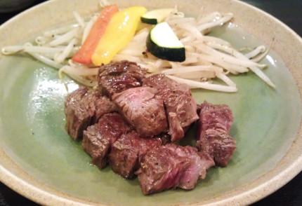 お肉のランチ オーストラリア産ステーキ(80g)