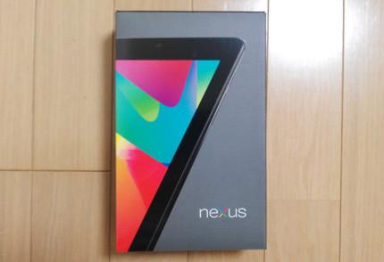 Google Nexus7 旧型(2012)