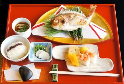 お食い初め膳(2,500円)